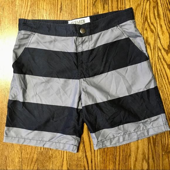 3b2f180c82 Forever 21 Swim | Mens F21 Stripe Board Shorts Size 32 | Poshmark